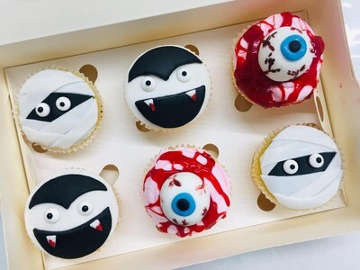 SPOOKY HALLOWEEN CUPCAKES WORKSHOP - Thursday 31st October 2019 (4pm - 6pm)