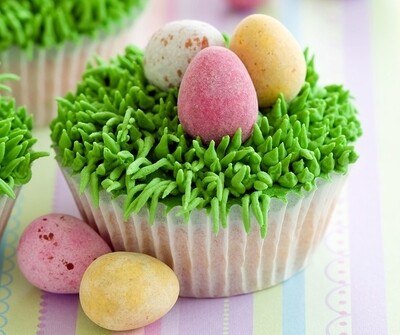 Easter Cupcake Decorating - School Holiday Workshop for Kids - Saturday 11th April 2020 - 10am to 12pm