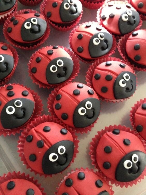 Lady Beetle Cupcakes - School Holiday Workshop - Kids - Thursday 16 April 2020 - 10am to 12pm