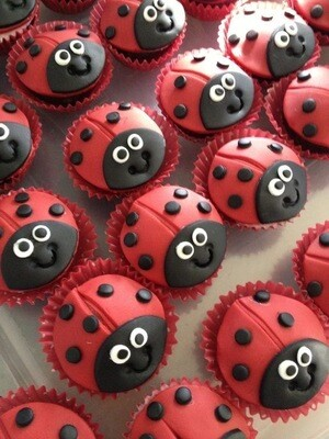 Lady Beetle Cupcakes - School Holiday Workshop for Kids - Thursday 16 April 2020 - 10am to 12pm
