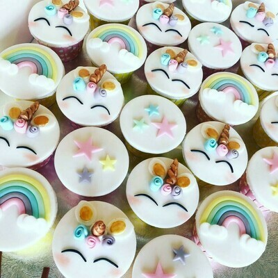 Unicorn Cupcakes - School Holiday Workshop for Kids - Thursday 23 April 2020 - 1pm to 3pm