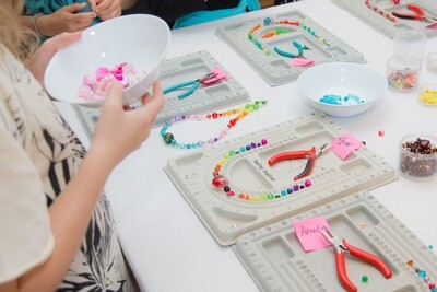 Jewellery Making - School Holiday Workshop - Tuesday 21 April 2020 - 1pm to 3pm