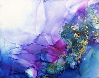 Introduction to Alcohol Ink Art - Adults - WAITING LIST
