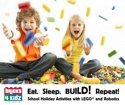 Bricks 4 Kidz - School Holiday Workshop for Kids - Thursday 23rd April 2020 - 10am to 12pm