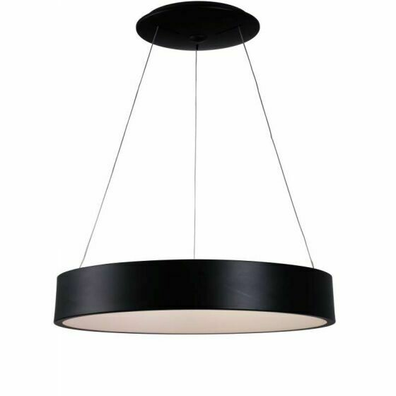Mica Black Large Pendant / 3K 36W LED AP-1144-BLK-3K