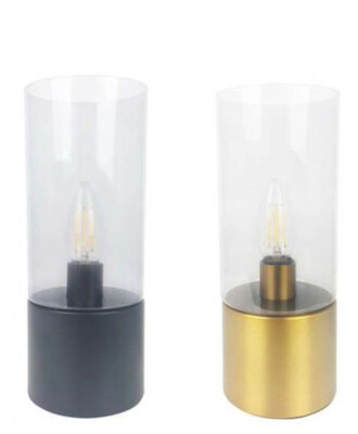 Cylinder touch lamp