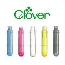 Clover Chaco Liner Pen Refill Silver (4724)
