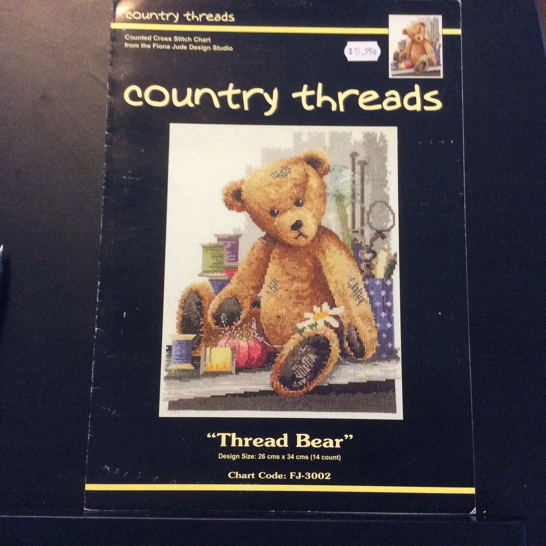DMC Country Threads Kit - Thread Bear