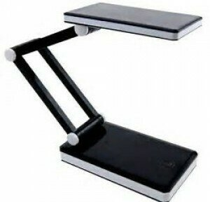 Triumph Rechargeable Folding LED Desk Lamp Black (OD188.B)