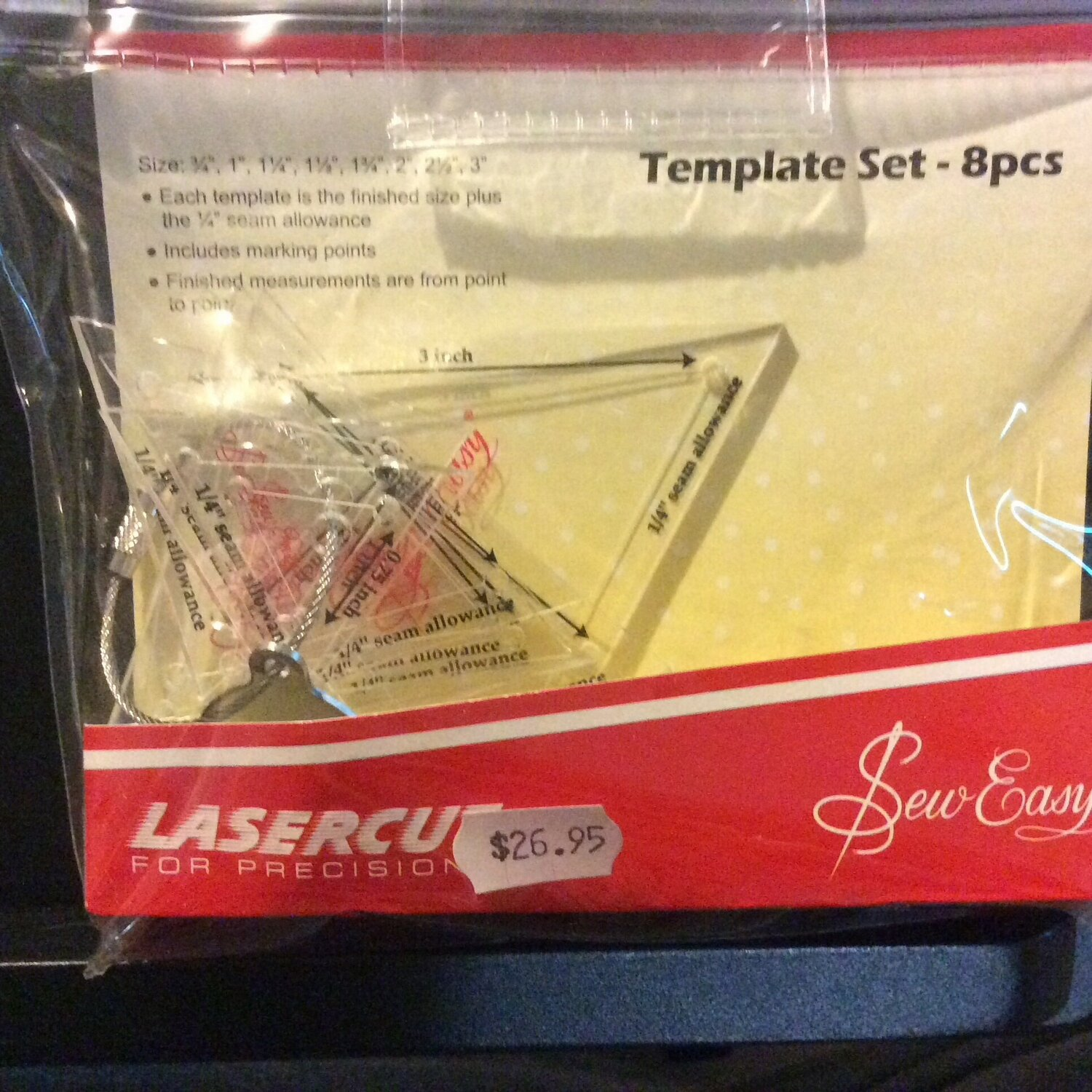 Sew Easy Triangle Mini Set 8pc