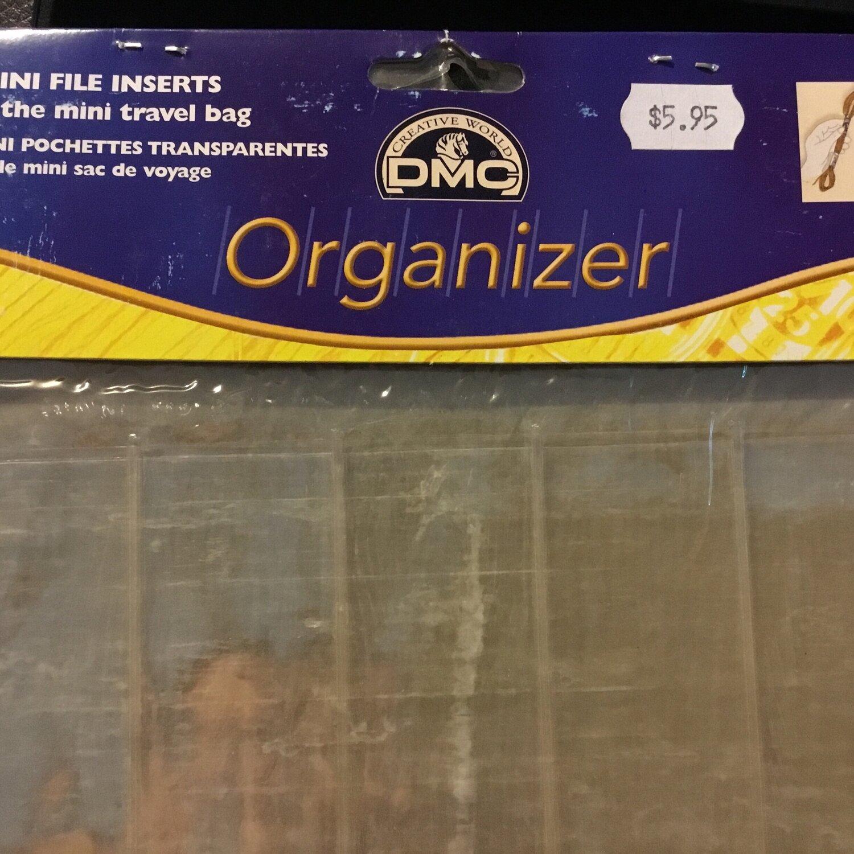 DMC Organizer 3 Mini File Inserts