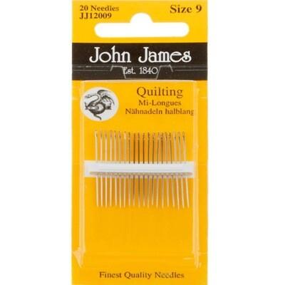 John James Quilting #08 pkt