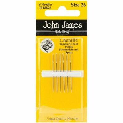 John James Chenille #26 pkt