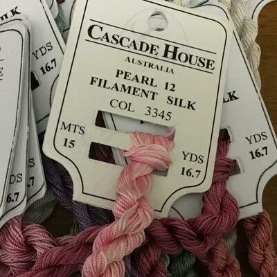 Cascade House Pearl 12 Filament Silk