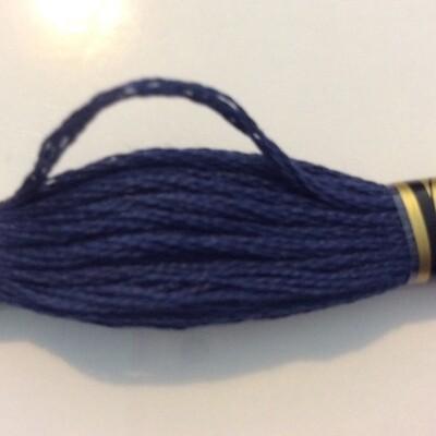 DMC107 Broder #16 Cotton 0336 - Navy Blue