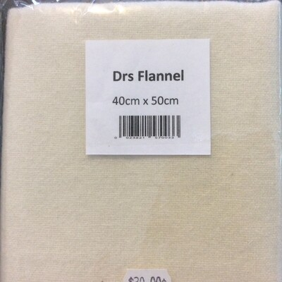 Drs Flannel Natural Fat 8th 40x50