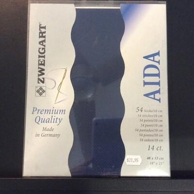 Aida 14ct Fat Qtr Navy