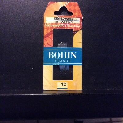 Bohin Betweens/Quilt #12 pkt (00324)