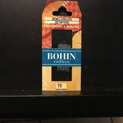 Bohin Betweens/Quilt #10 pkt (00322)