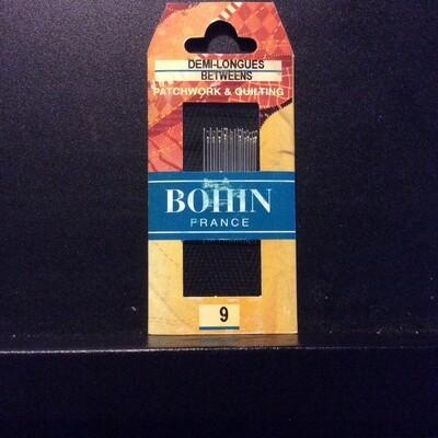 Bohin Betweens/Quilt #09 pkt (00321)