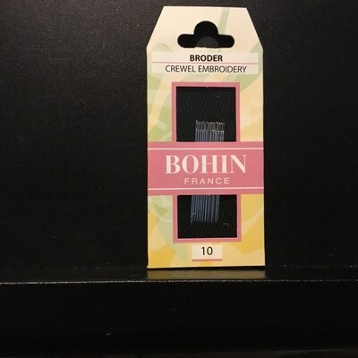 Bohin Crewel #10 pkt (00722)