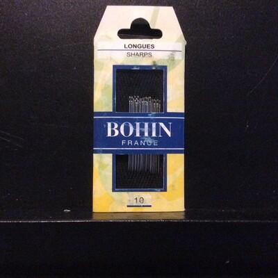 Bohin Sharps #10 pkt (00222)