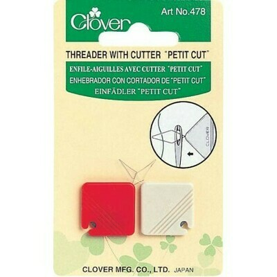 Clover Threader with Cutter 478