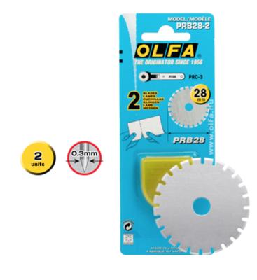 Olfa Rotary Blade 28mm 2pkt Skip (PRB28-2) discontinued ??