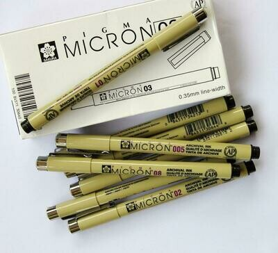 Sakura Pigma Micron 0.5mm Black