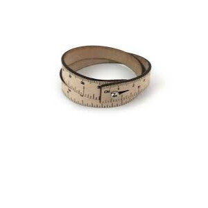 Wrist Leather Natural 18