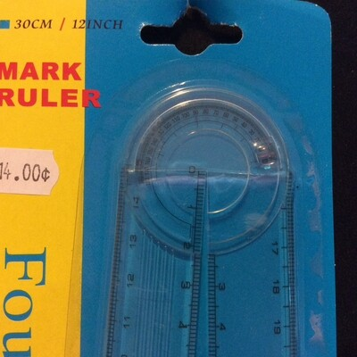 Angle Ruler Adjustable 15cm