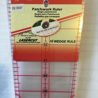 Sew Easy Ruler 10degree Wedge