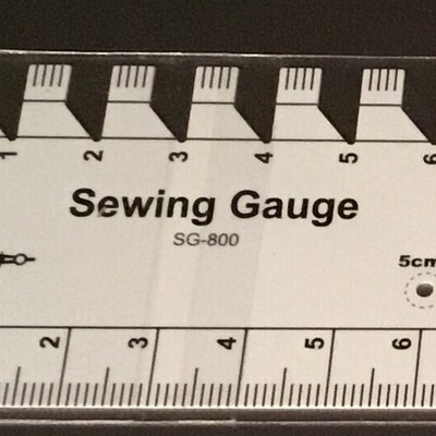 Sew Mate Sewing Gauge Ruler