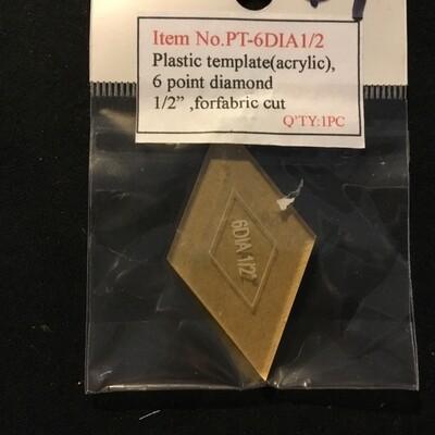 Template 6pt Diamond 0.5