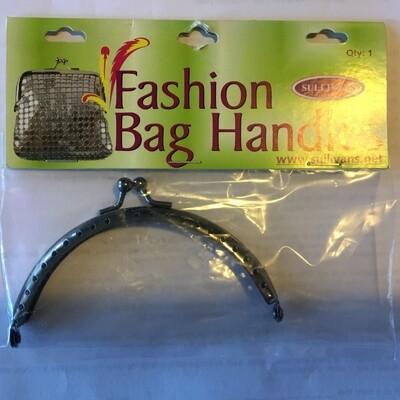 Sullivans Fashion Bag Handles 10cm Black