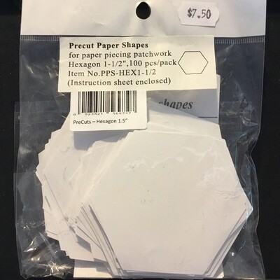 Pre-Cut Hexagon 1.5