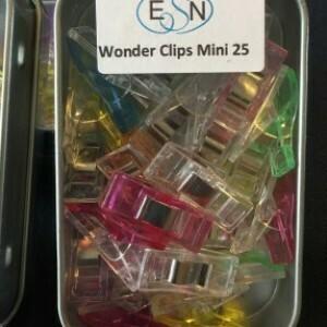 Wonder Clips Mini - Mixed 25pk