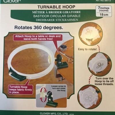 Clover Turnable Hoop 7