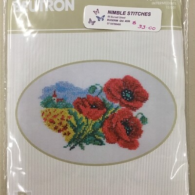 Beutron Petite Knots 13.001 Poppies