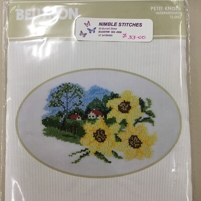 Beutron Petite Knots 13.002 Sunflowers