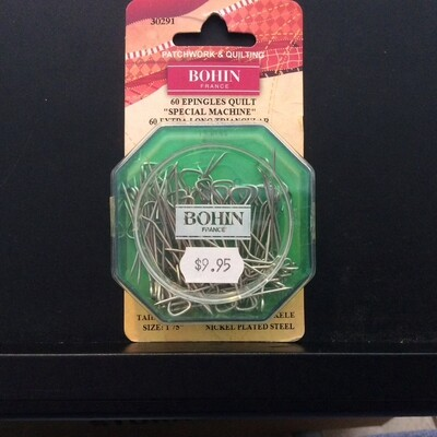 Bohin T Extra Long Triangular Head Pins 60pc