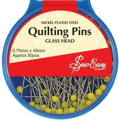 Sew Easy Quilters Extra Long 45mm x 0.70mm 50pc (ER703)