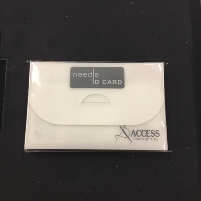 Needle ID Cards