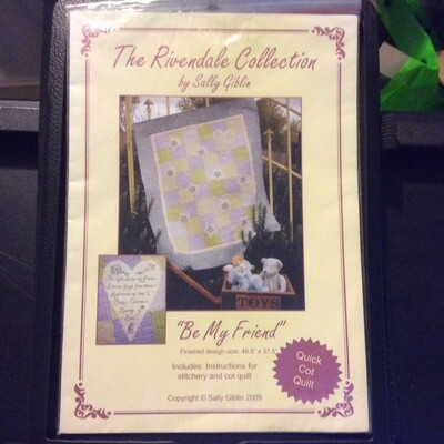 The Rivendale Collection Be My Friend Cot Quilt