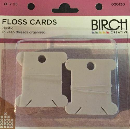 Birch Floss Cards (012206)