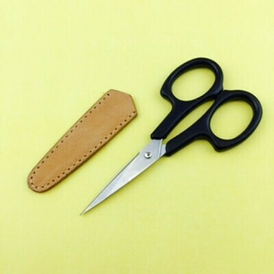 Scissors Sheath Leather - Med