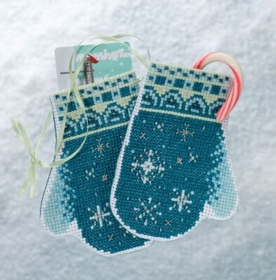 Mill Hill Mittens Trilogy - Snowflake Mittens (MH19-1832)