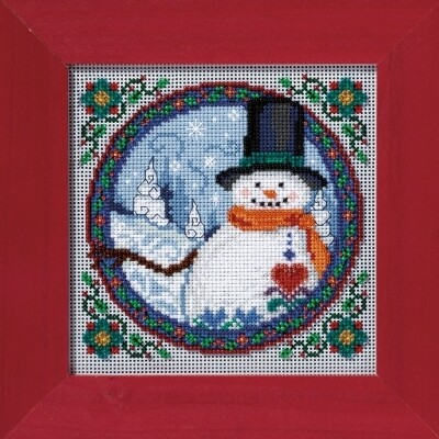 Mill Hill Jim Shore - Southern Snowman (JS30-4102)