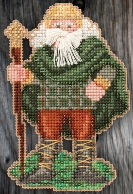 Mill Hill Celtic Santas - Ireland Santa (MH20-5303)