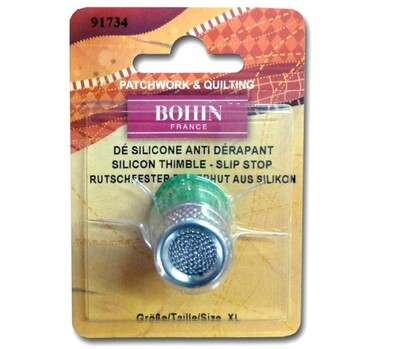 Bohin Thimble Silicone Extra Large Green (91734)